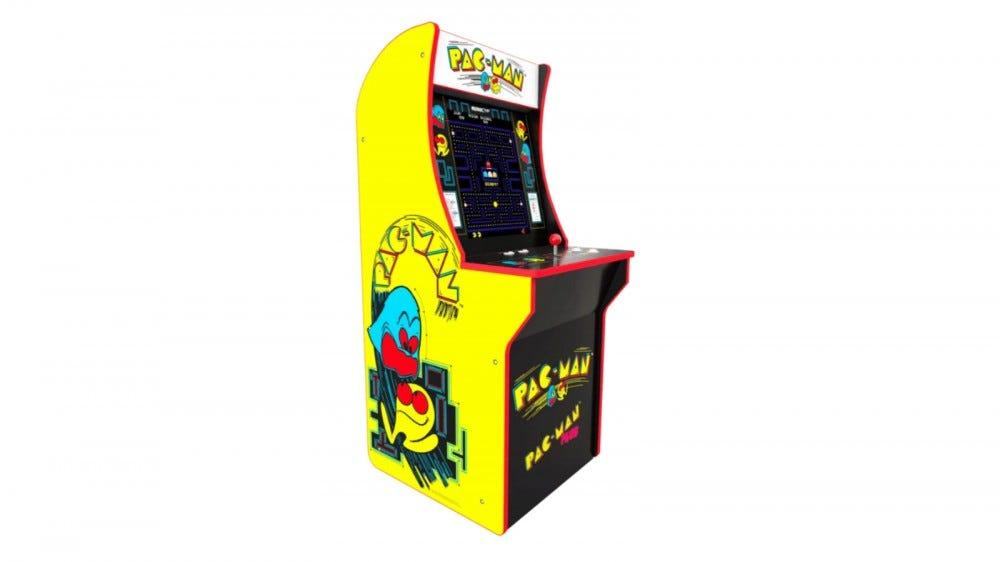 Arcade1Up Pac-Man cabinet