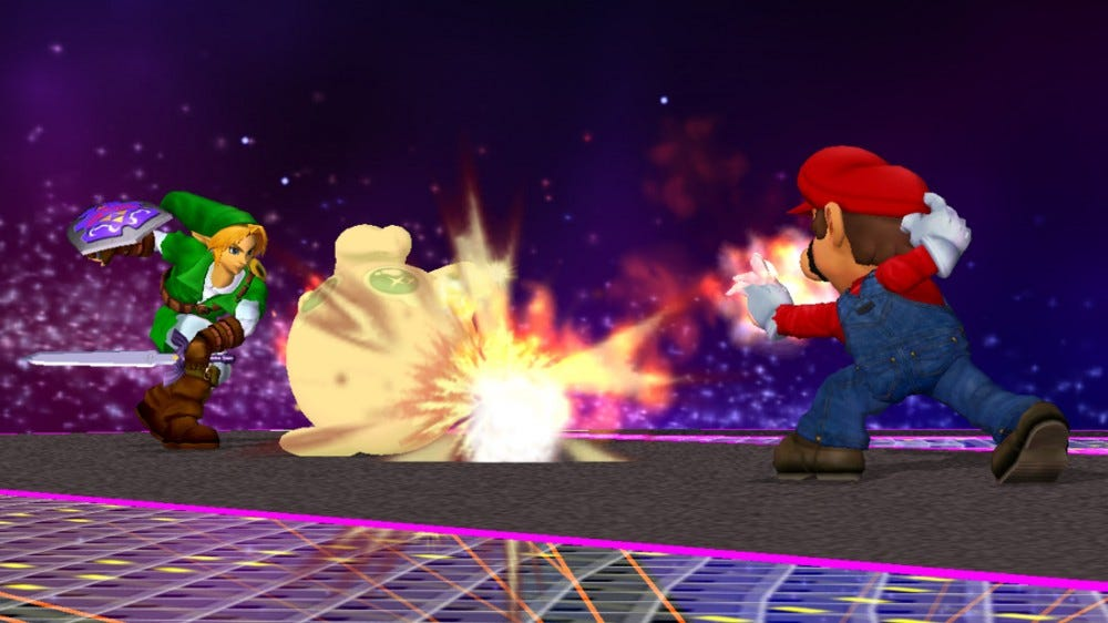 Super smash Bros Melee screenshot