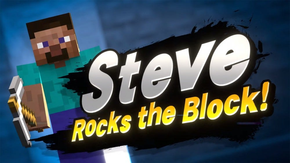 Steve from Minecraft