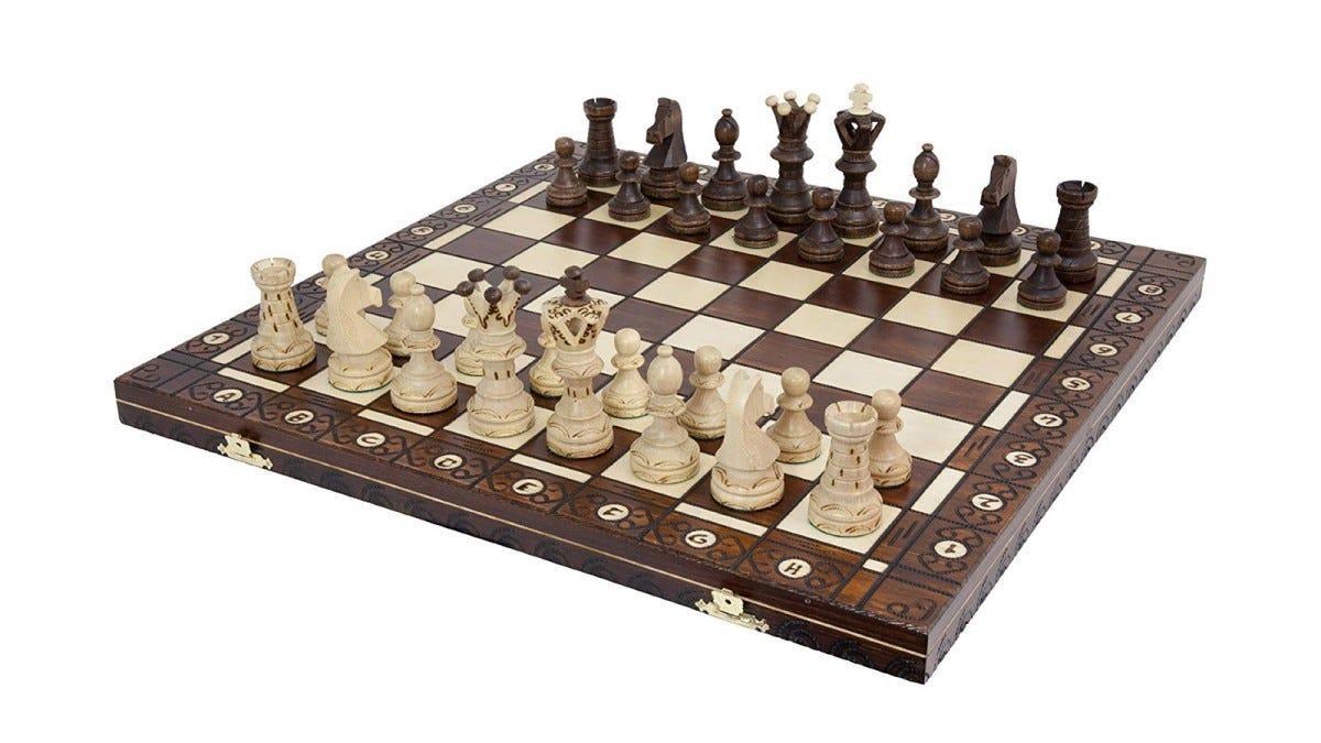 Weigel European Ambassador Chess Set