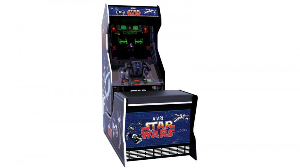 Star Wars Seated Arcade1Up Cabinet