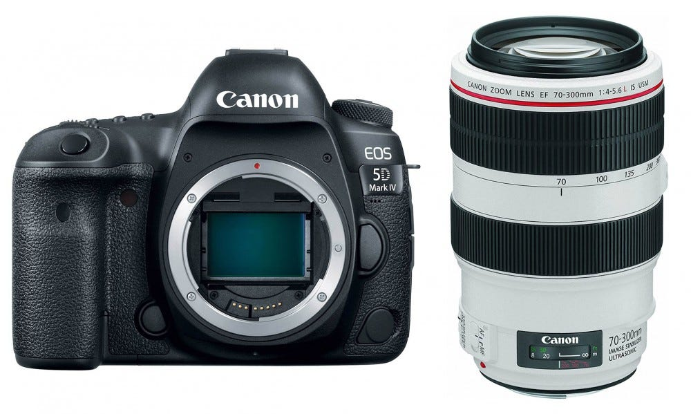 Canon 5D Mark IV and L 30-700mm lens