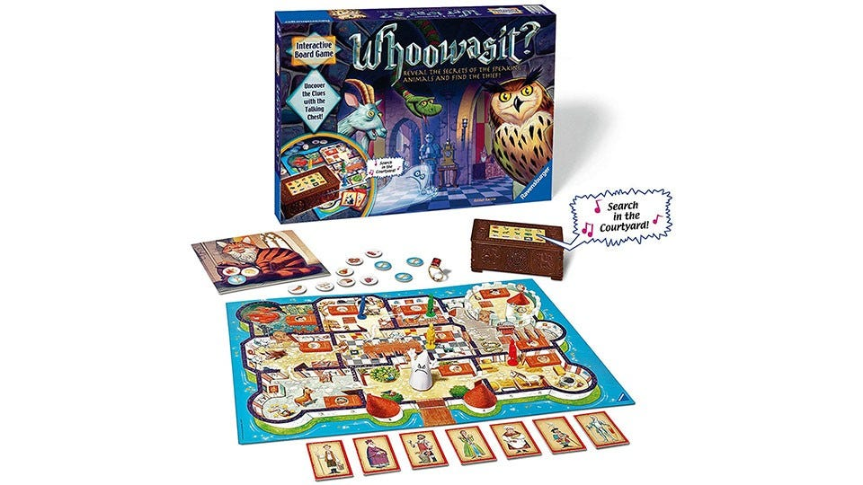 Whowasit? Board Game