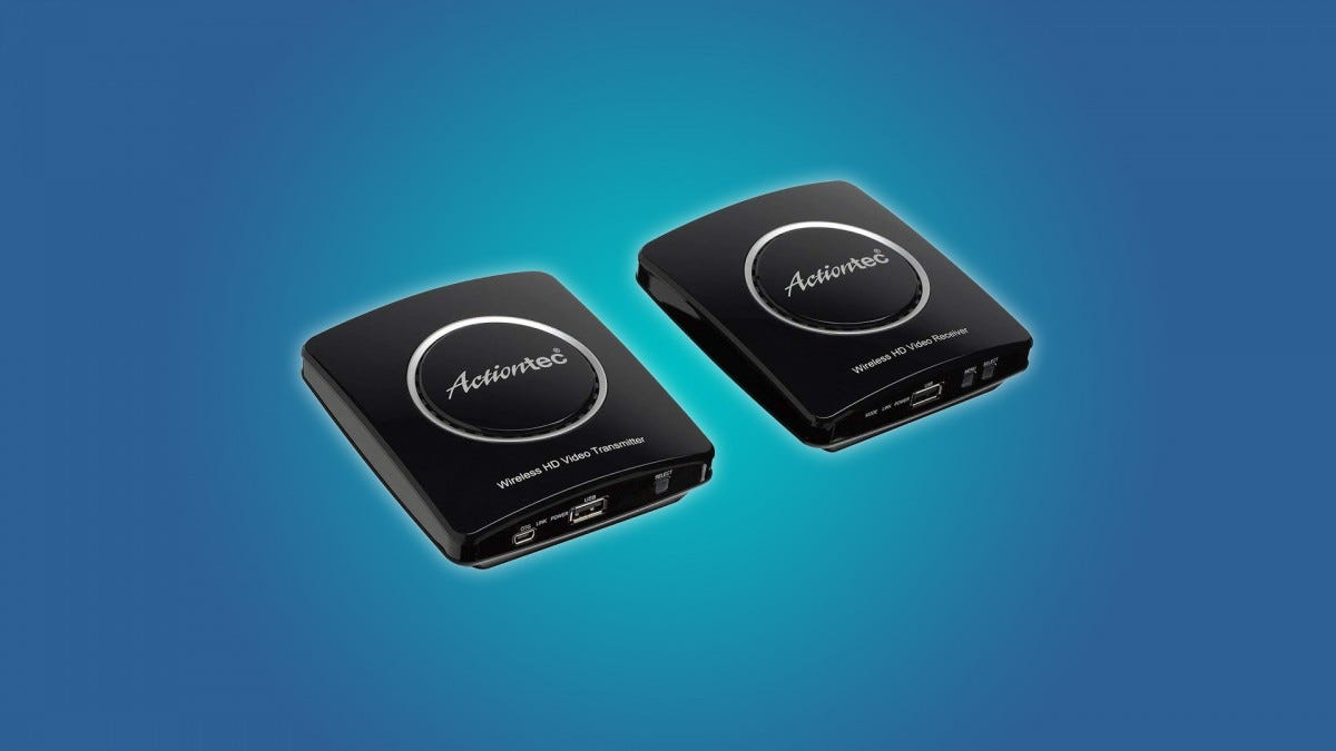 The Actiontec Wirless HDMI Set
