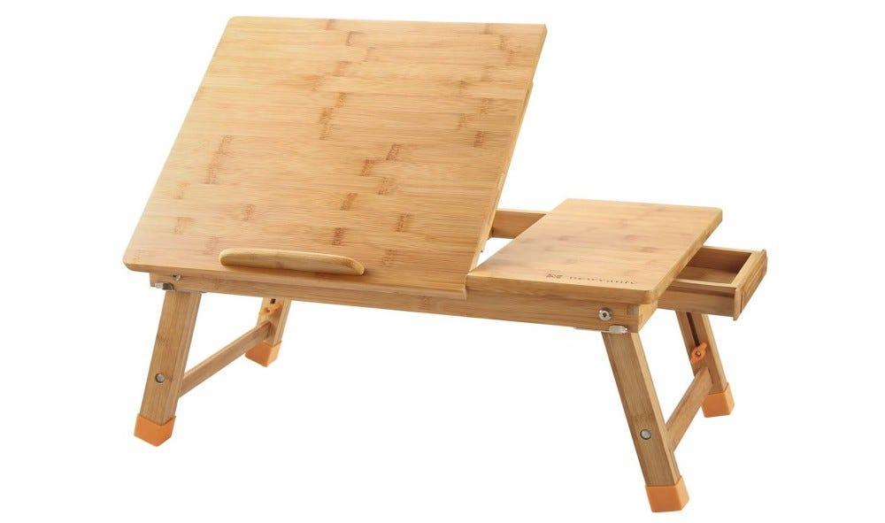 Escritorio portátil de madera