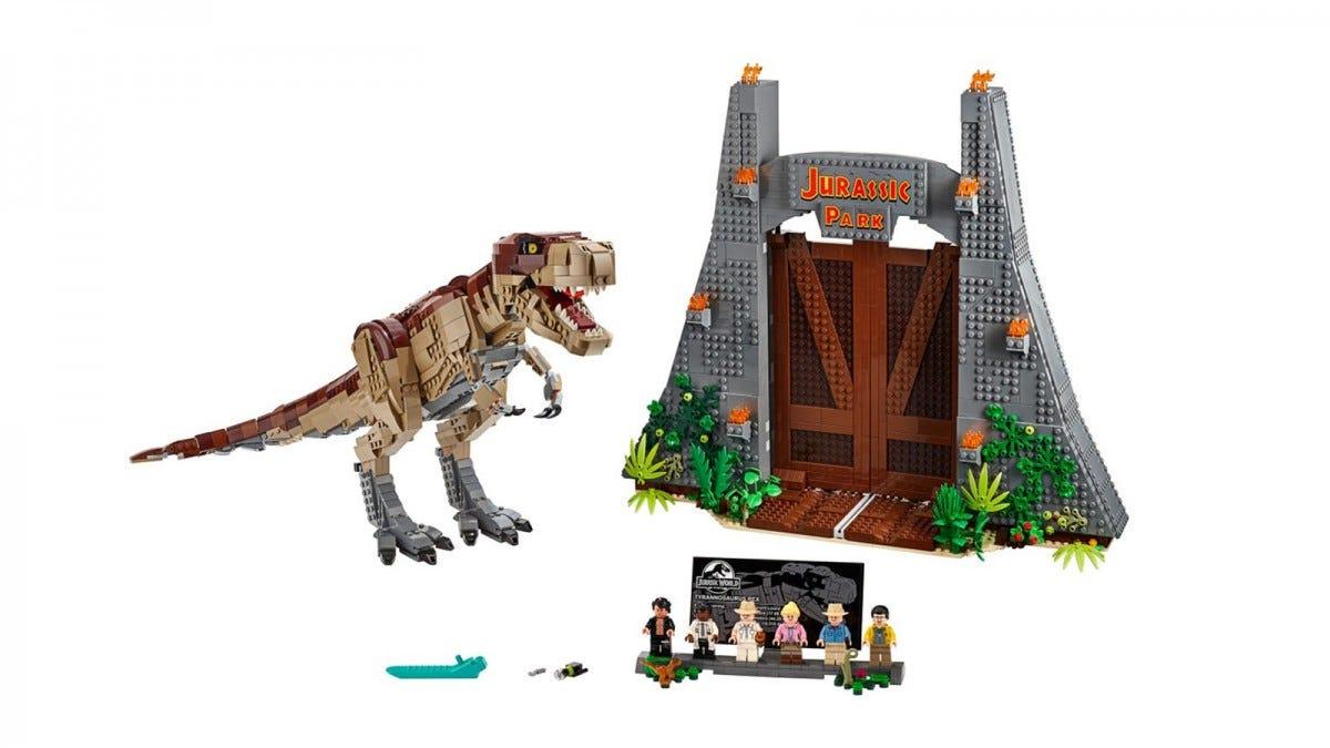 LEGO Jurassic Park T. Rex Rampage