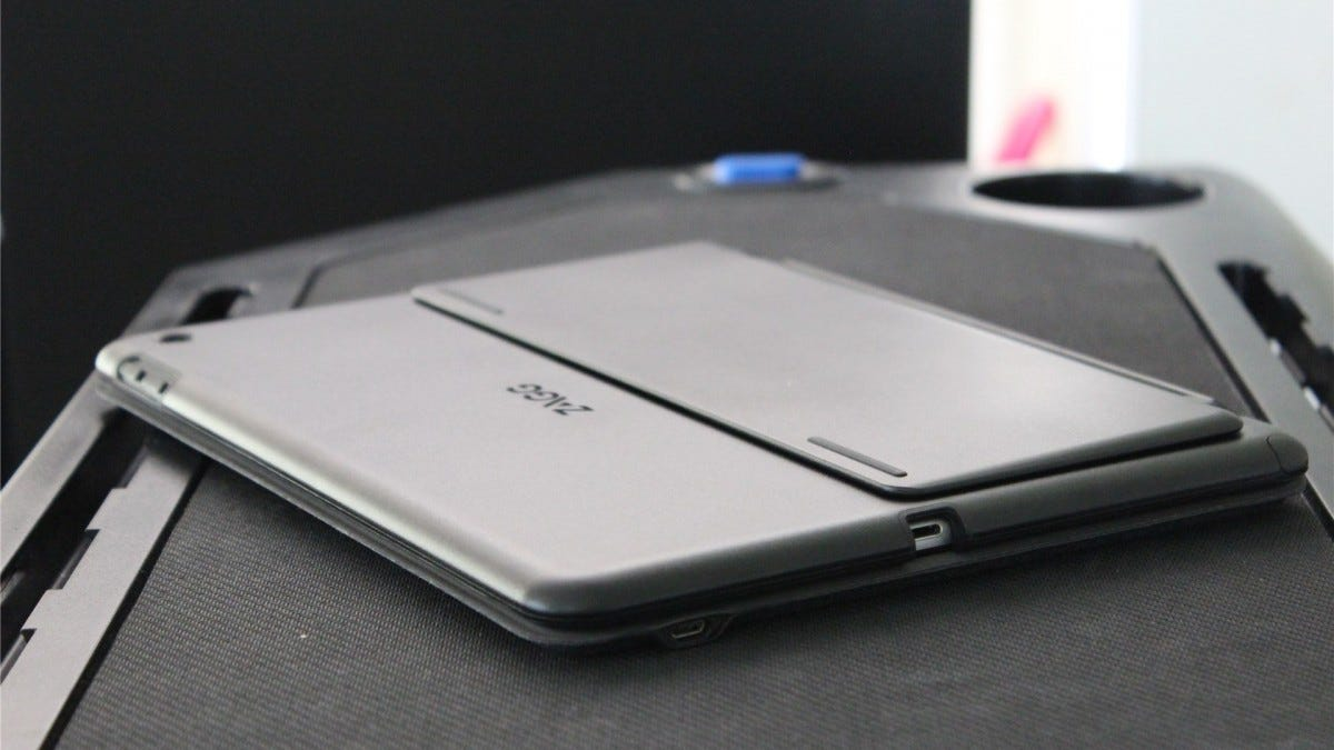 ZAGG Slim Book Go folded up