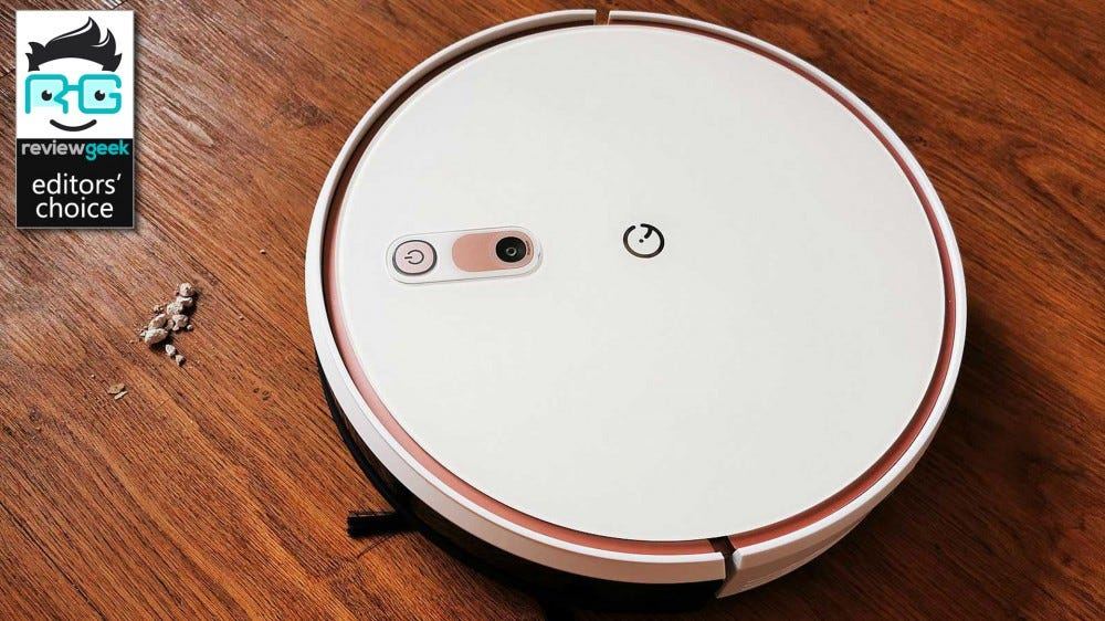 yeedi k700 robot vacuum cleaner vacuuming dust