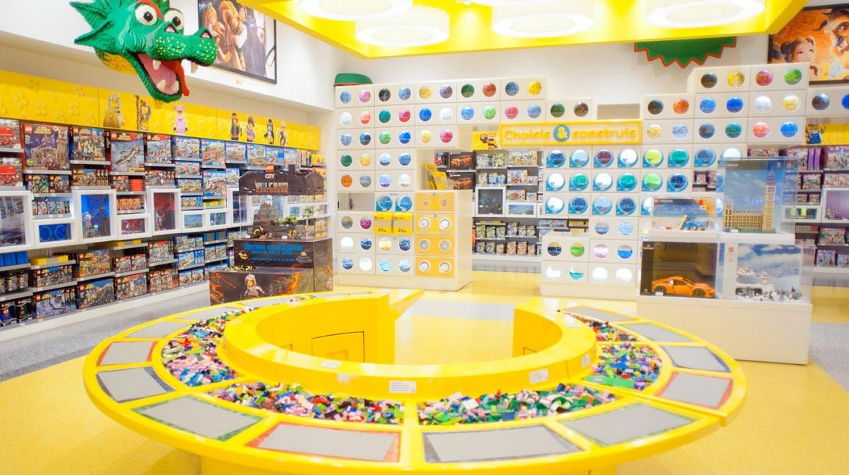 An official LEGO Store.