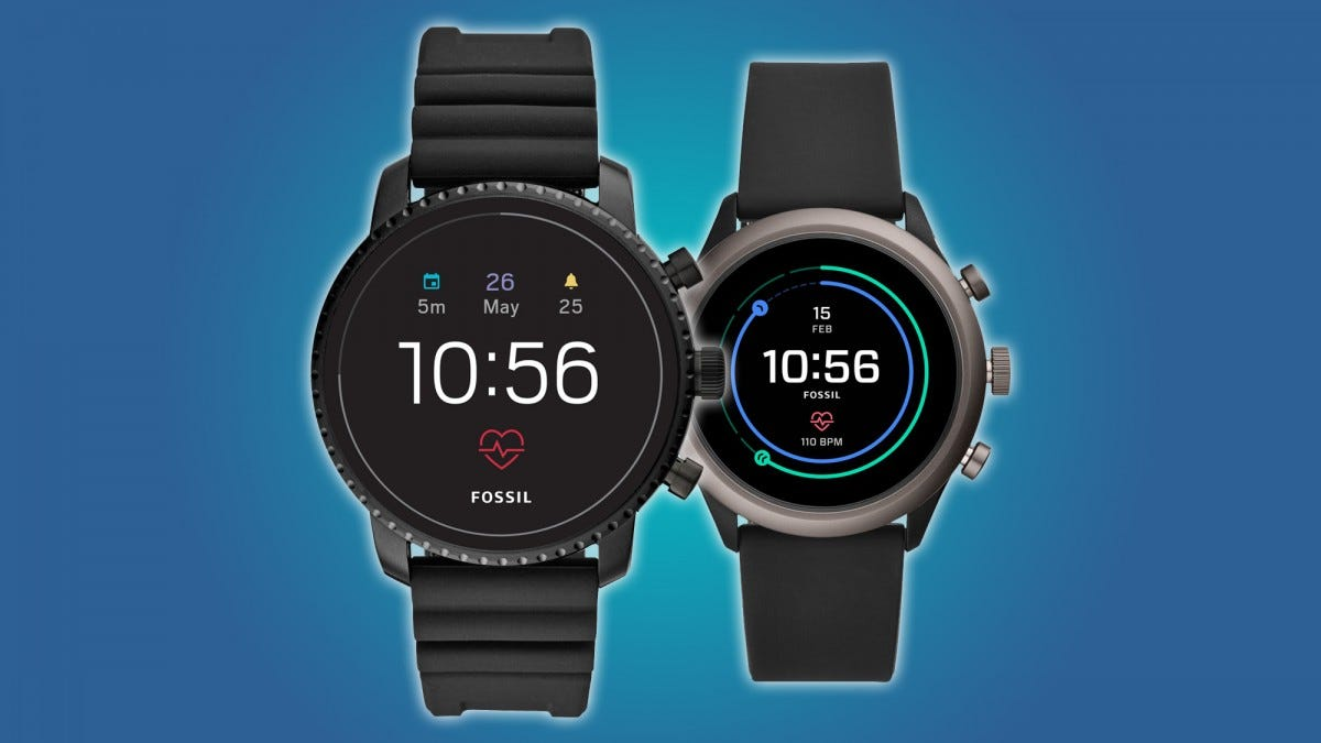 Fossil Sport and Gen 4 Smartwatches