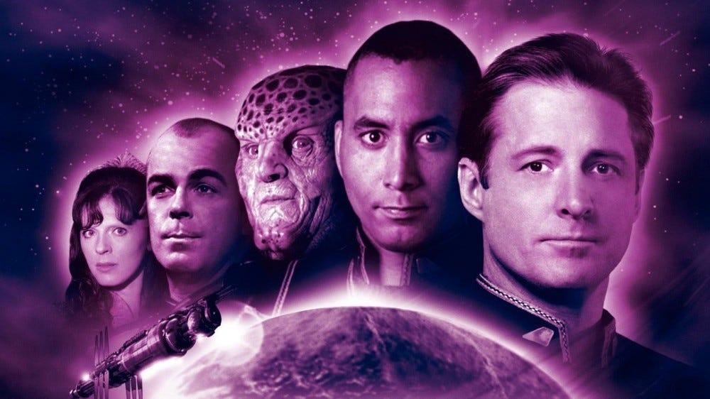 The cast of 'Babylon 5'