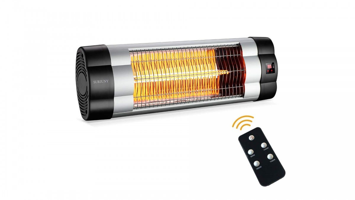 The SURJUNY Remote-Controlled Patio Heater.