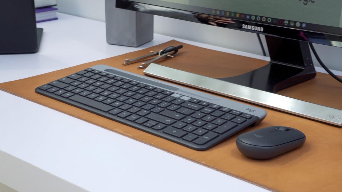 Logitech Made For Google Wireless Mouse Keyboard