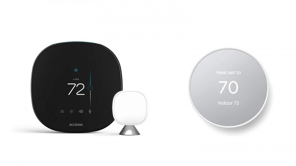Ecobee Smart and Nest Thermostat
