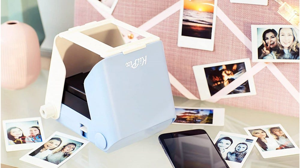 Kiipix best budget photo printer scan and print your photos