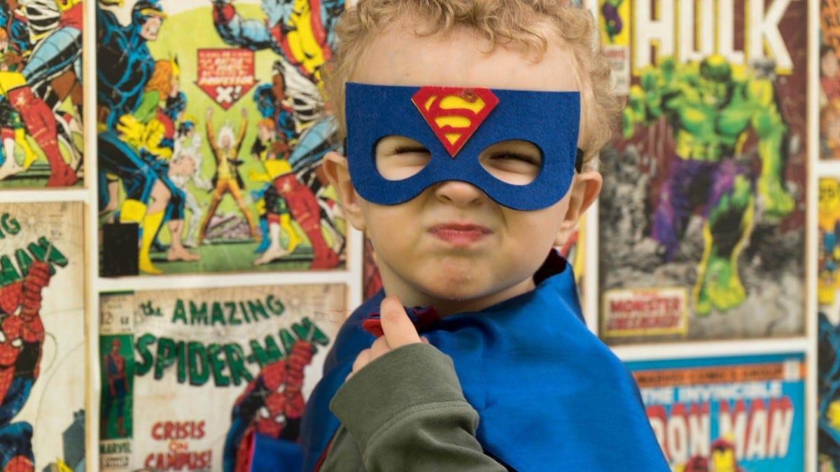 Comic Book Hero Image