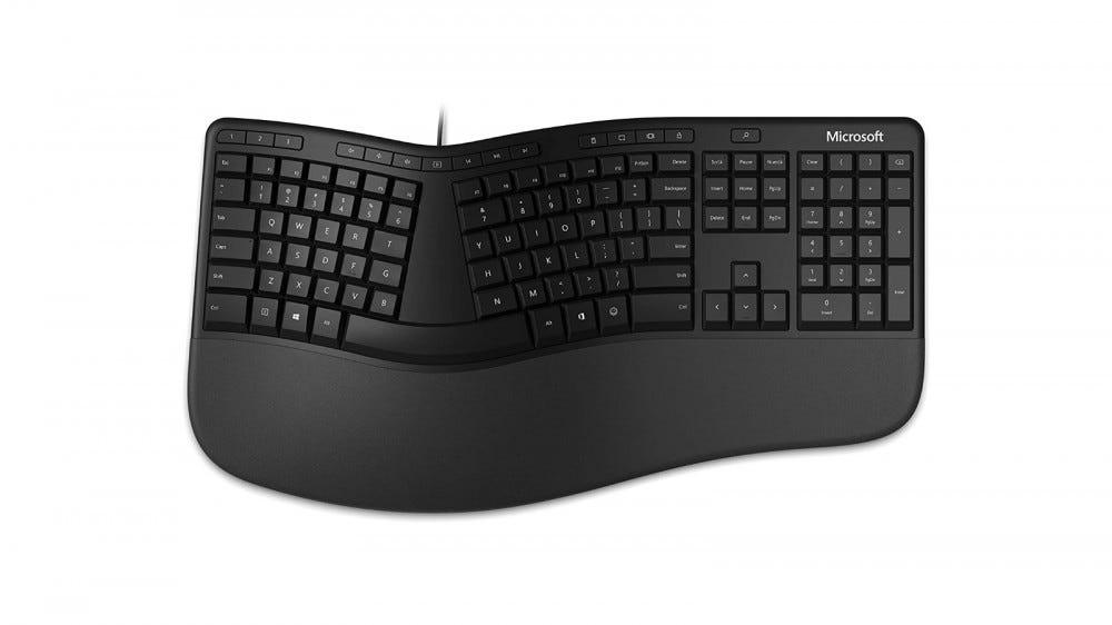 Microsoft ergonómikus billentyűzet