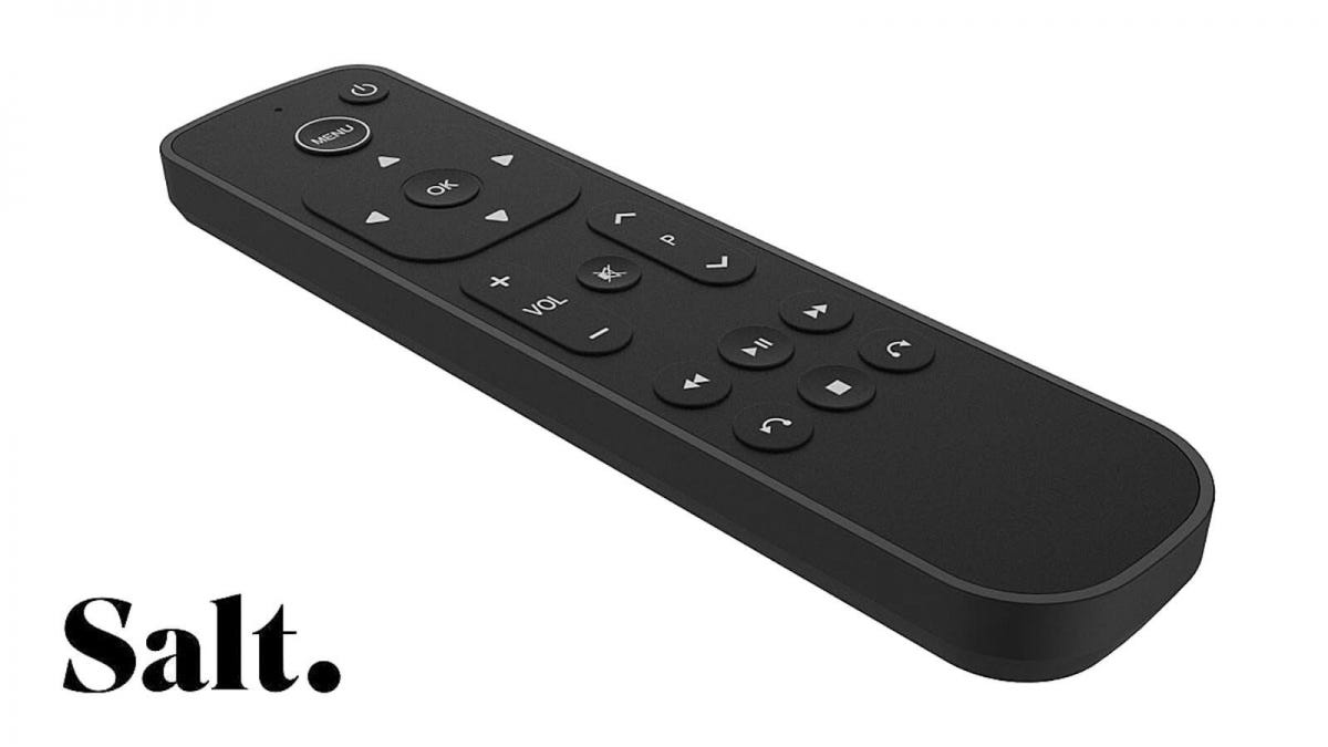 Salt Apple TV remote
