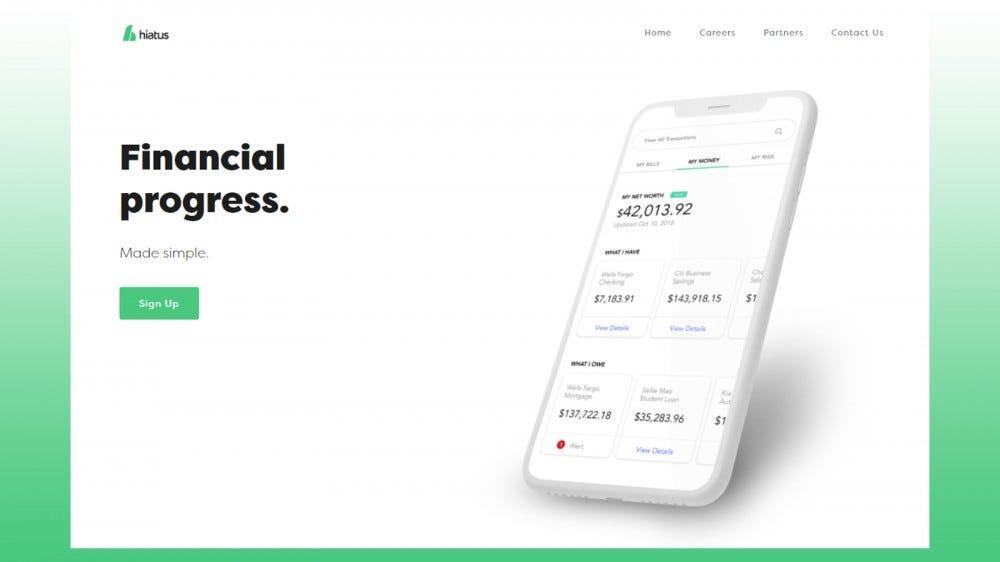 Hiatus website
