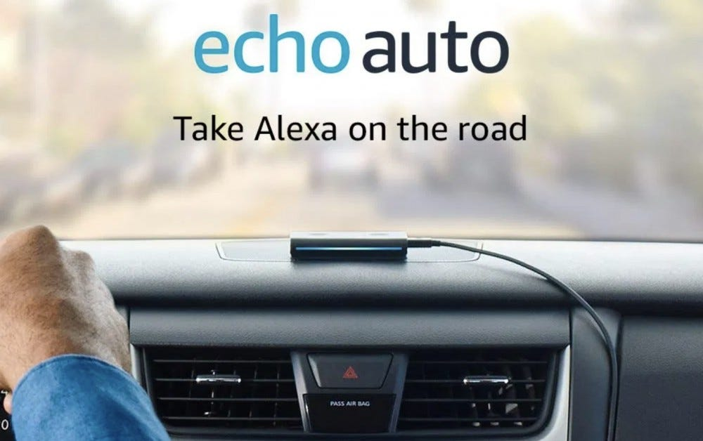 Alexa in the car