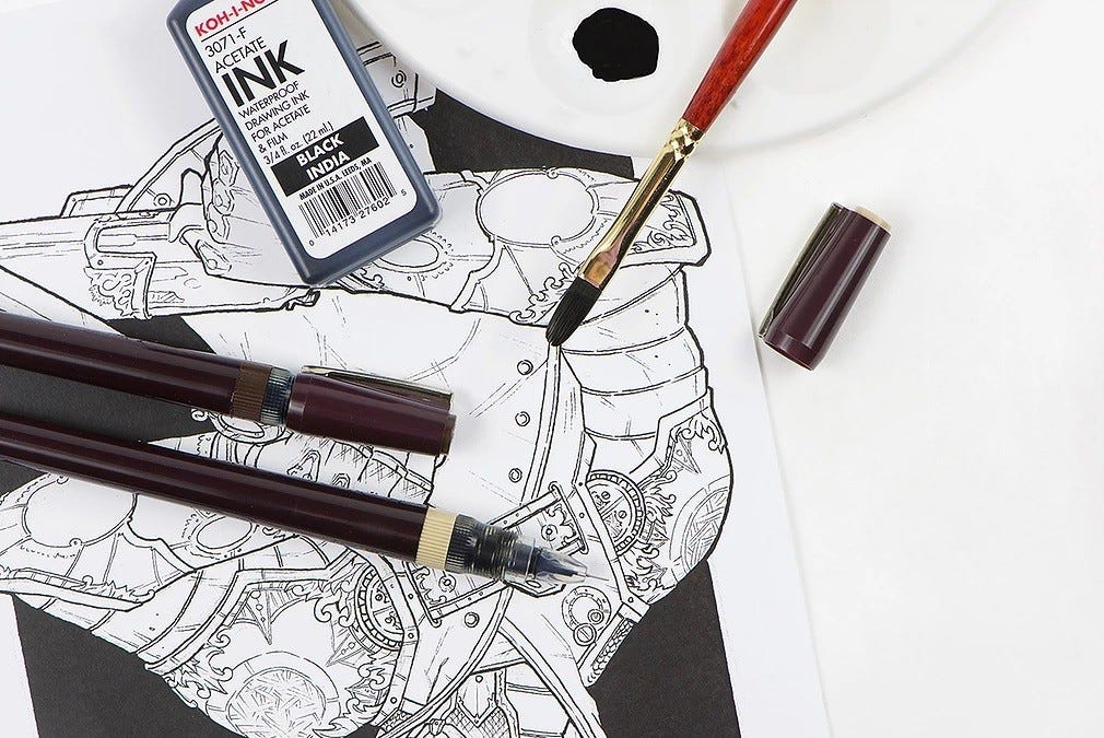 Koh-I-Noor Rapidosketch pen