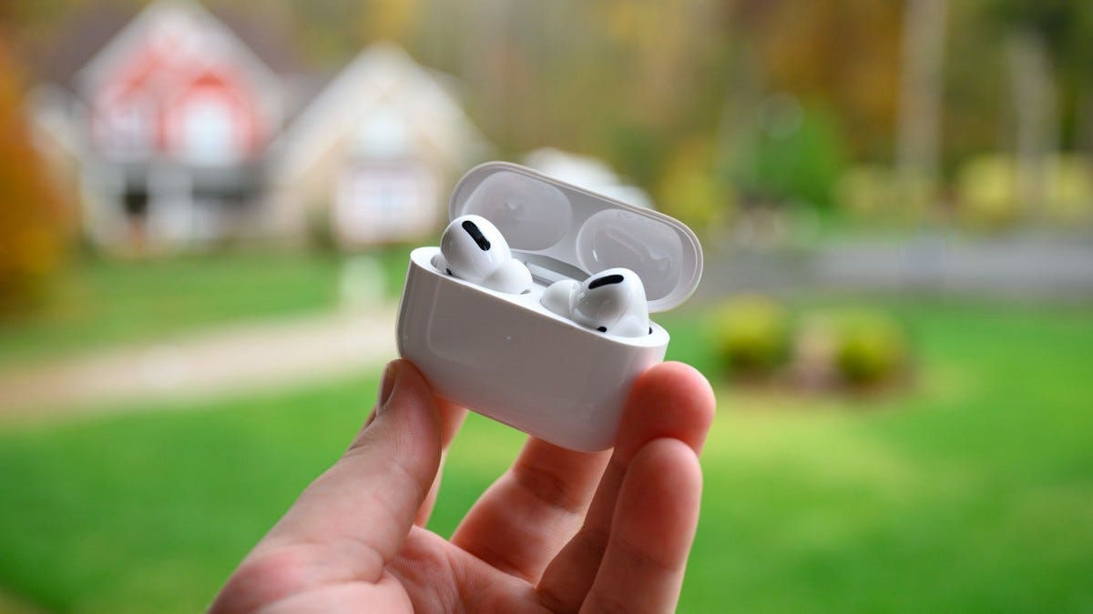 Apple AirPods Pro Charging Case Open