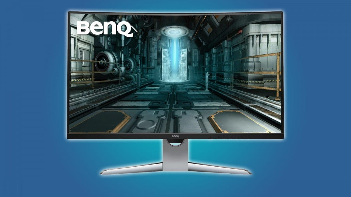 BenQ EX3203R Monitor Review: Small Problems Drag Down This