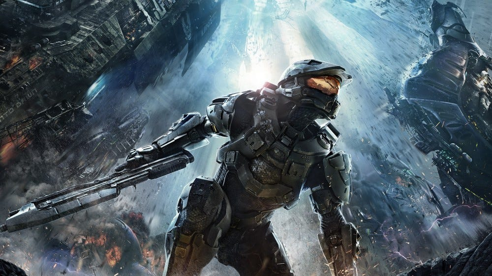 Master Chief from 'Halo 4'