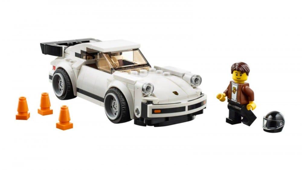 LEGO Speed Champions 1974 Porsche 911 set