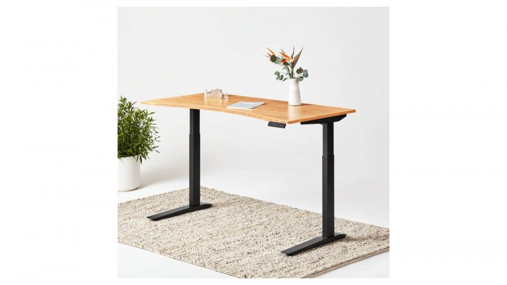 Fully Jarvis bamboo standing desk sustainable materials smart desk