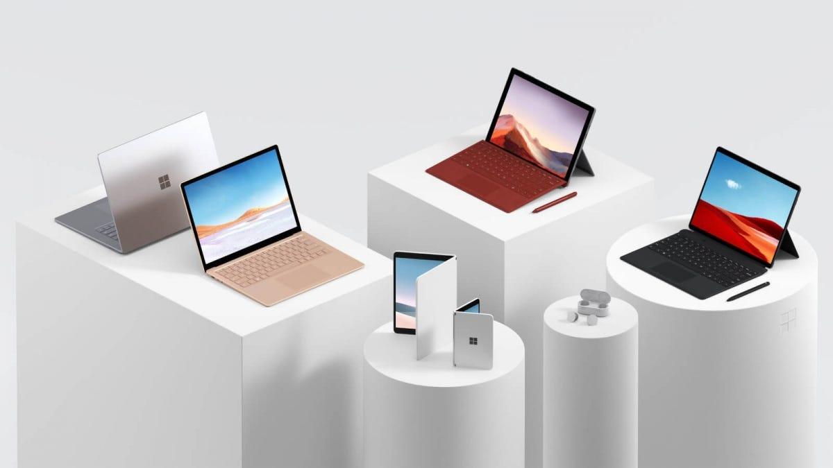 Microsoft Surface Lineup