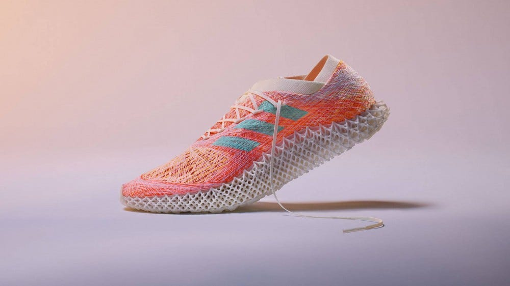 Adidas Futurecraft.Strung running shoe prototype