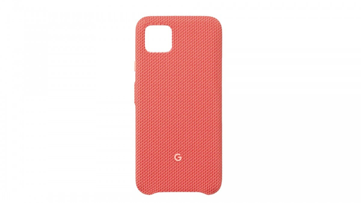 The official Pixel 4 fabric case.
