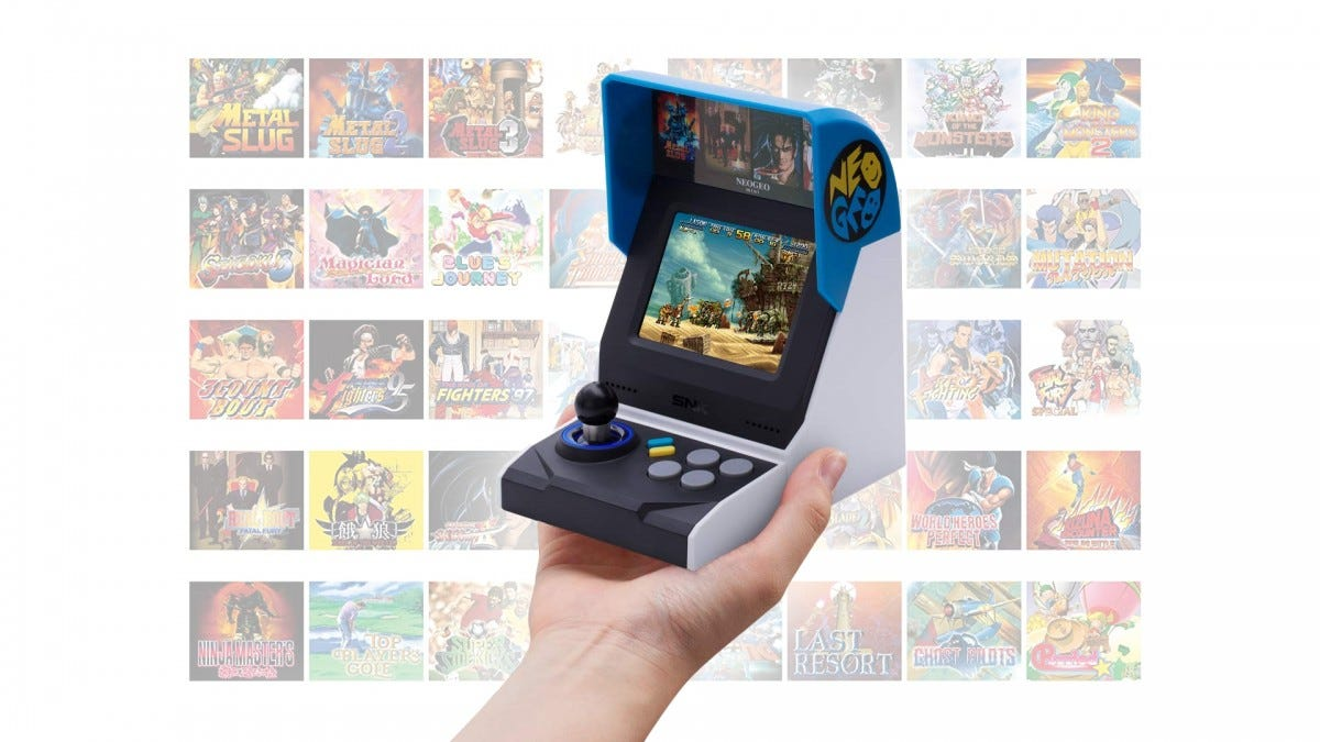 The NEOGEO Mini International