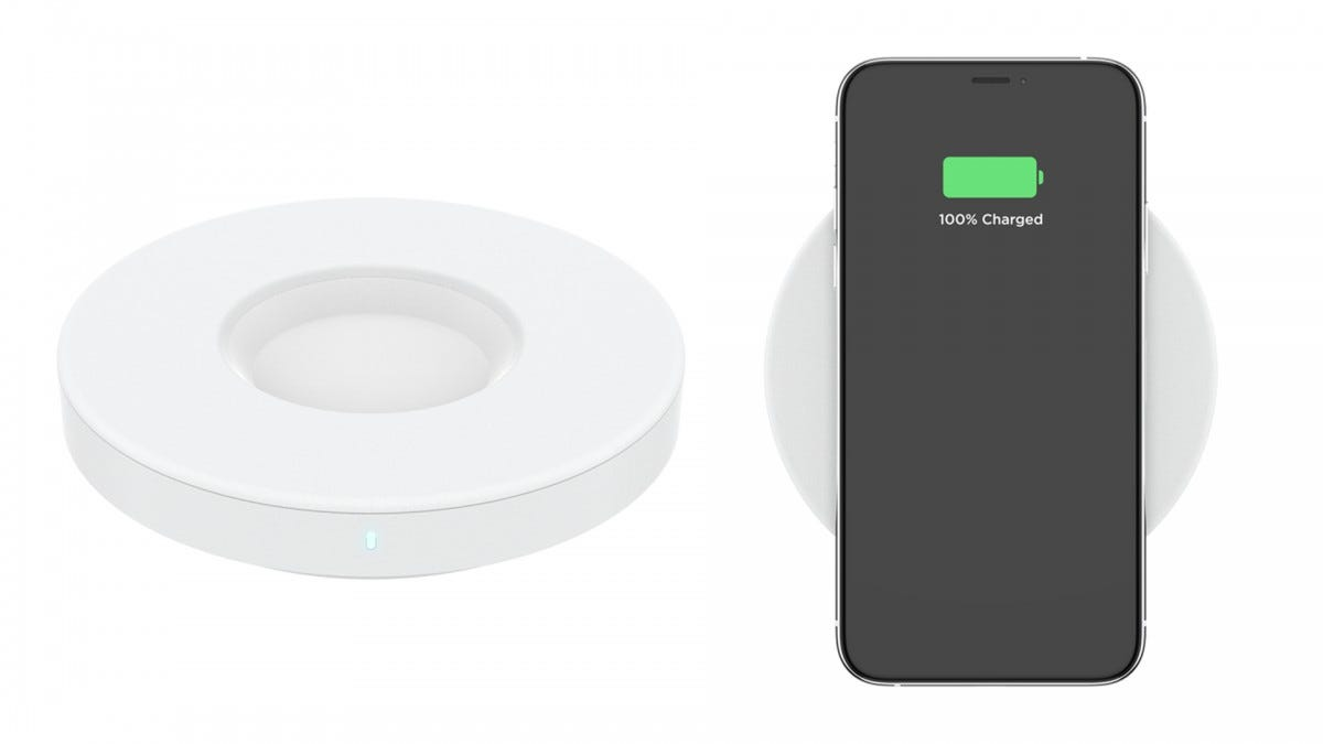 The POPPOWER wireless charger.
