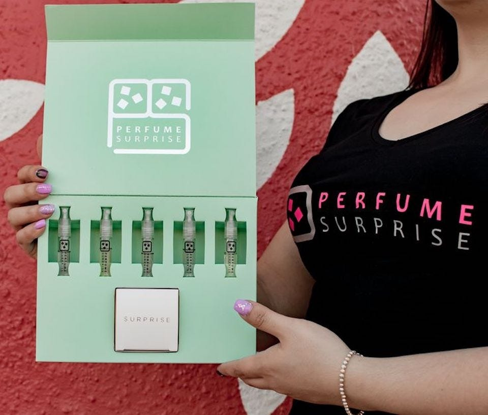 Perfume Surprise subscription box