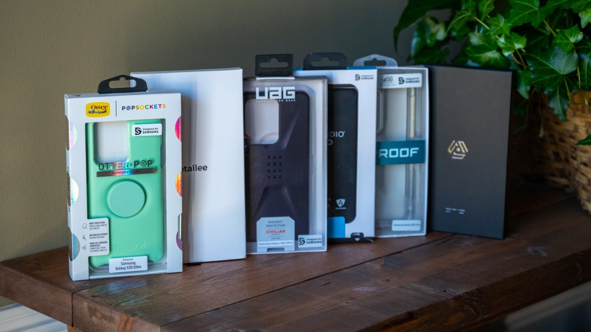 Samsung Galaxy S20 Cases Lineup