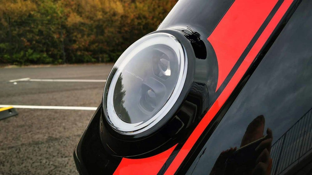 niu scooter headlamp