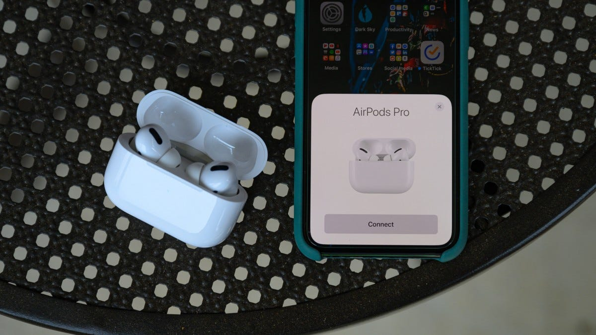 Apple AirPods Pro Pairing Process iPhone