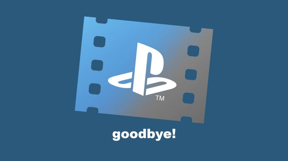 The PlayStation Video logo and the word