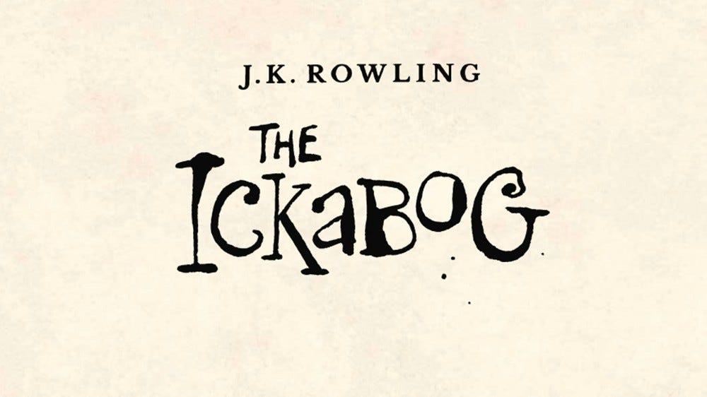 The Ickabog logo.