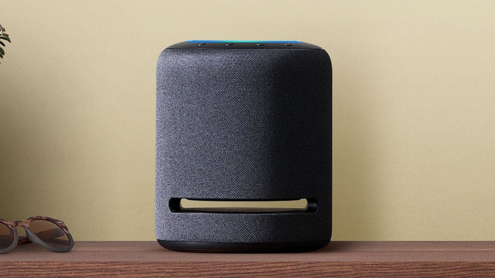 Amazon's Echo Studio smart speaker, the only speaker that supports 360 Reality Audio.