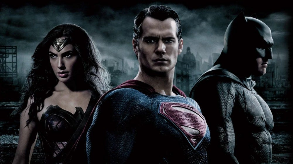Promo image from Batman vs. Superman