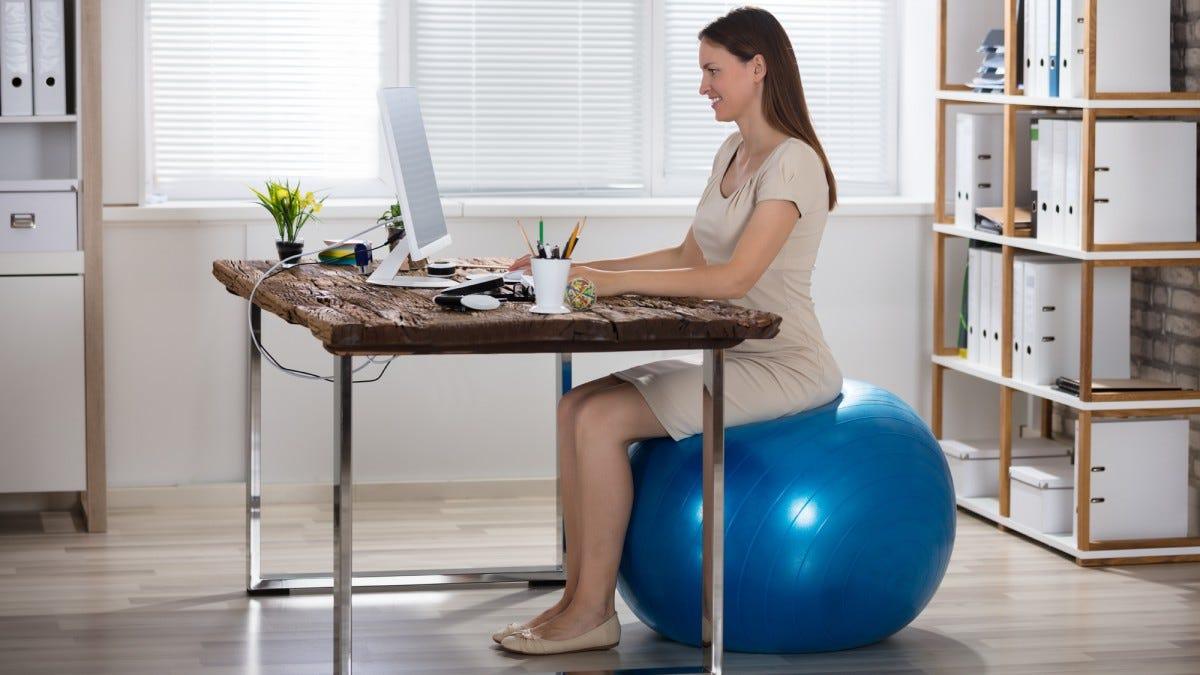 Enjoyable The Best Desk Chair Alternatives Review Geek Evergreenethics Interior Chair Design Evergreenethicsorg