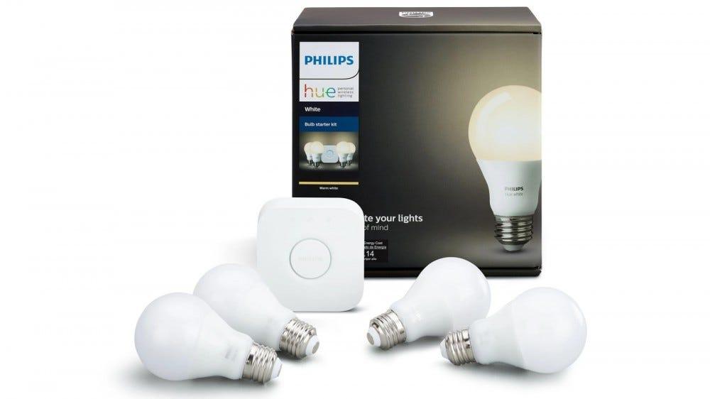 Philips Hue Starter Kit with bulbs and hub