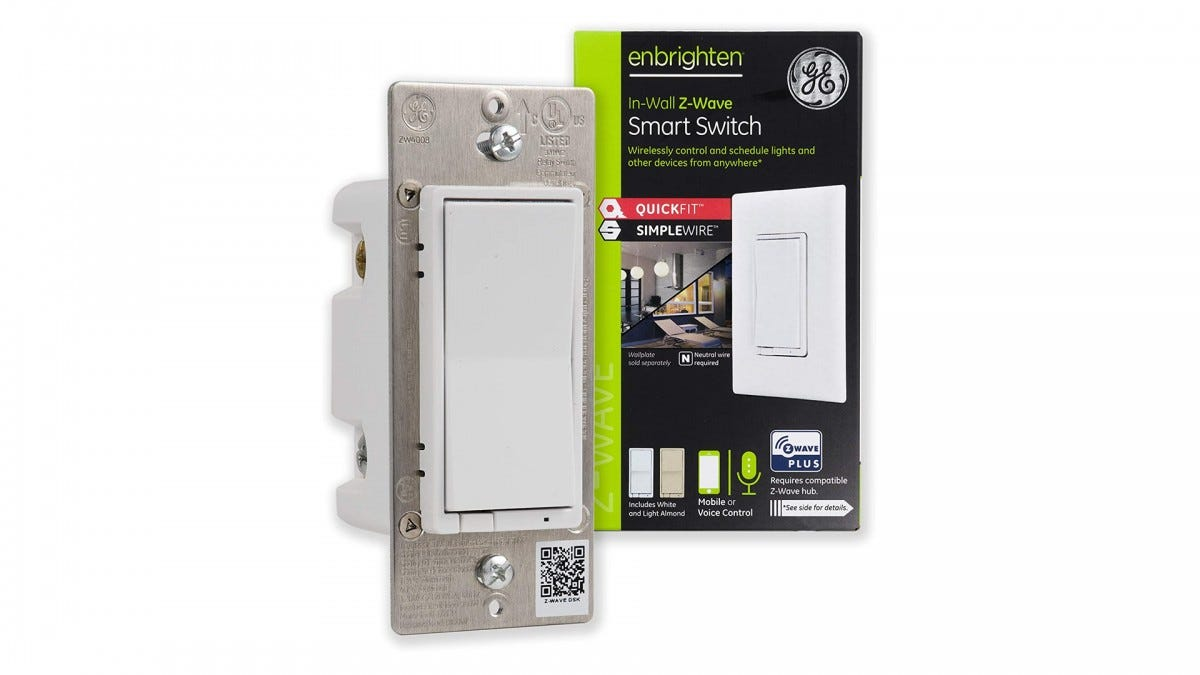 The GE Enbrighten smart Switch