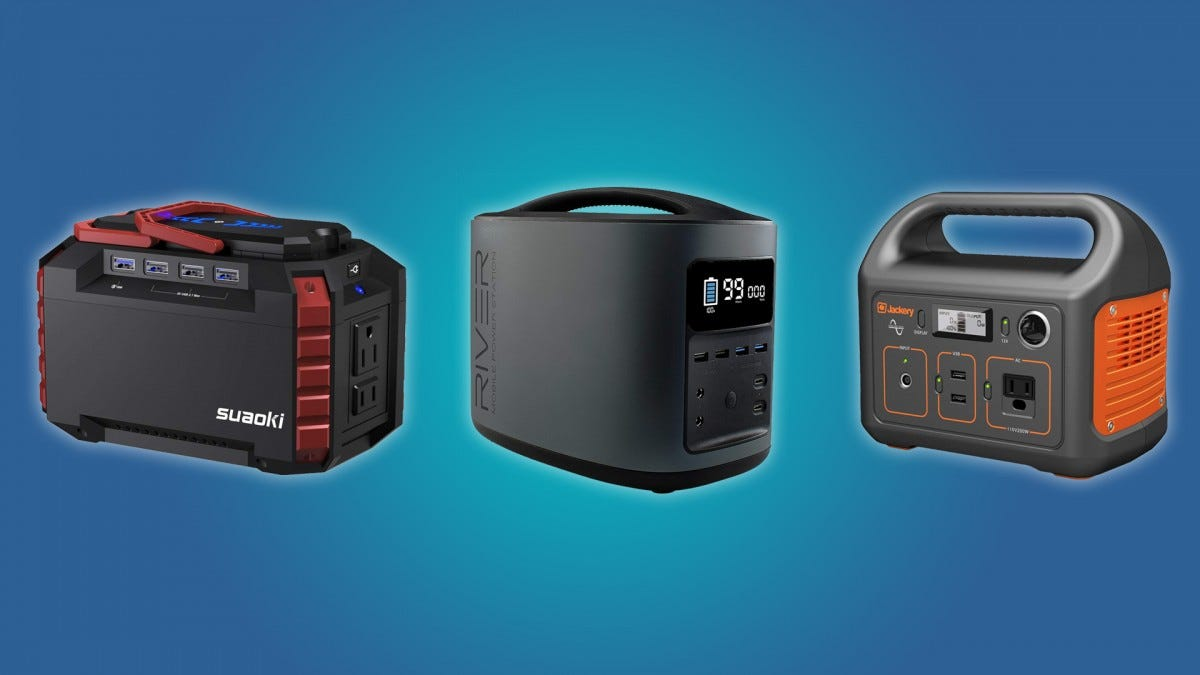 The Best Portable Electric Power Stations Review Geek
