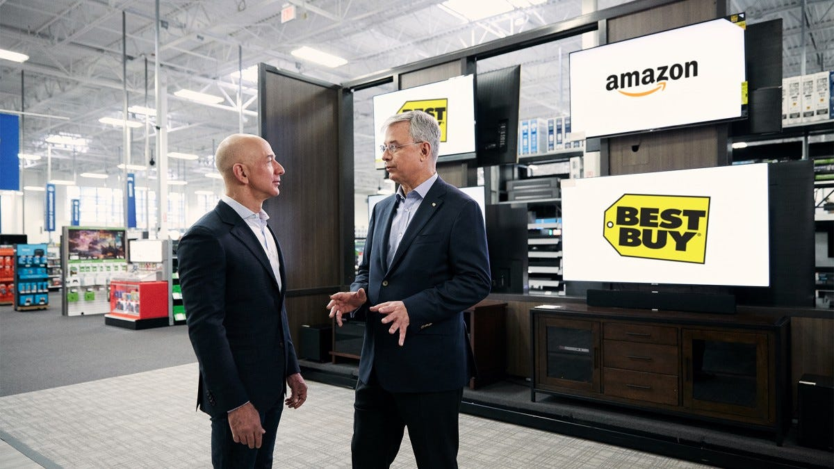 Amazon Will Sell TVs Inside Best Buy, As Long As You Don't