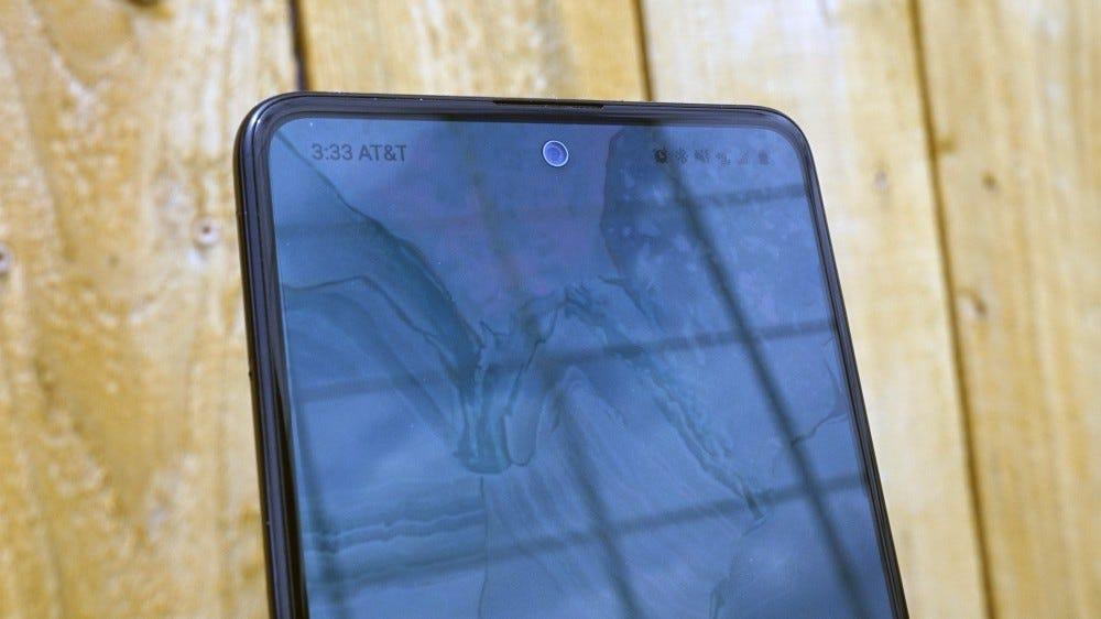 Galaxy A51 punch hole camera