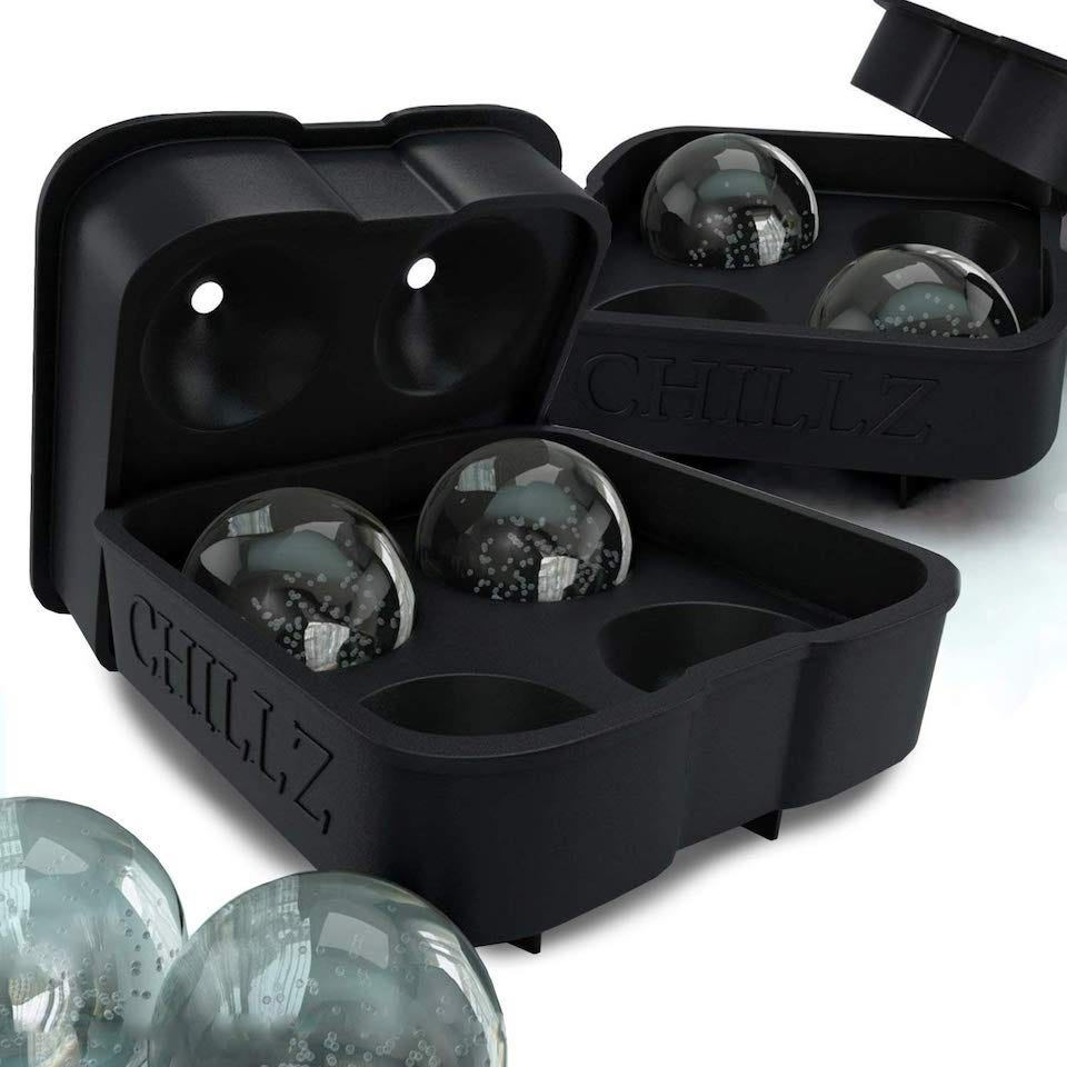 622490d5d94f3 The Chillz Classic Ice Ball Maker might offer similar results to the Tovolo Ice  Ball mold